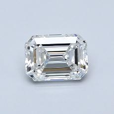 Recommended Stone #1: 0.76-Carat Emerald Cut Diamond