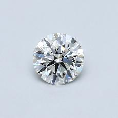 Recommended Stone #1: 0,40-Carat Round Cut Diamond