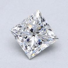 1,08 Carat Princesse Diamond Très bonne F SI2