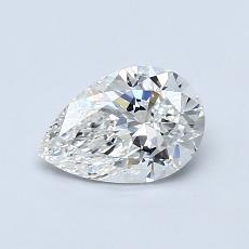 0.70-Carat Pear Diamond Very Good F VS1