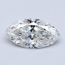 Piedra recomendada 3: con diamante Talla marquesa de 0.81 quilates