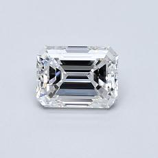 Recommended Stone #1: 0.63-Carat Emerald Cut Diamond