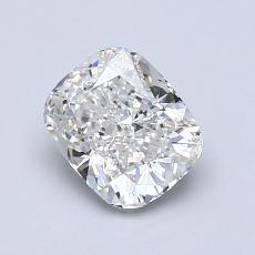 1.02-Carat Cushion Diamond Very Good G VS1