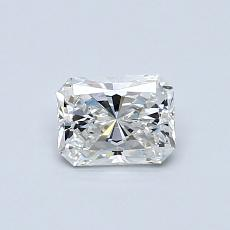 Recommended Stone #1: 0.53-Carat Radiant Cut Diamond