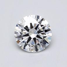 0.70 Carat 圓形 Diamond 理想 D VS2