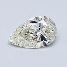 Recommended Stone #1: 0,75-Carat Pear Cut Diamond