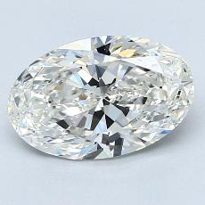 2.02-Carat Oval Diamond Very Good H VS1