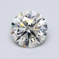 1.00-Carat Round Diamond Ideal K SI1