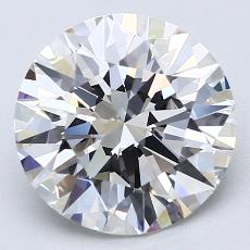 Recommended Stone #2: 3.25-Carat Round Cut Diamond