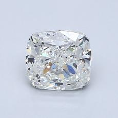 1,20-Carat Cushion Diamond Very Good H VVS2
