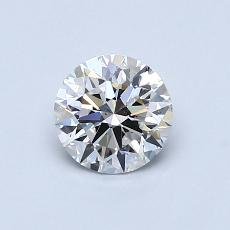 0.70 Carat 圆形 Diamond 理想 E VS1