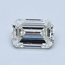 Recommended Stone #4: 0.97-Carat Emerald Cut Diamond