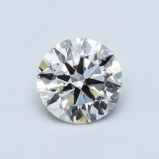 0.77 Carat 圆形 Diamond 理想 G VVS1