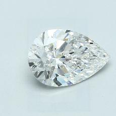 Recommended Stone #3: 2.51-Carat Pear Cut Diamond