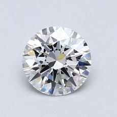 0.90 Carat 圓形 Diamond 理想 H VS1
