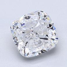 2.01-Carat Cushion Diamond Very Good D VS1