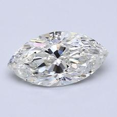 0.90 Carat 榄尖形 Diamond 非常好 I VS2