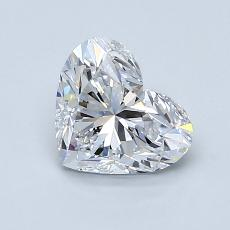Recommended Stone #3: 1.11-Carat Heart Cut Diamond