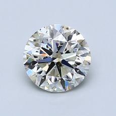 推荐宝石 1:1.01 克拉圆形切割