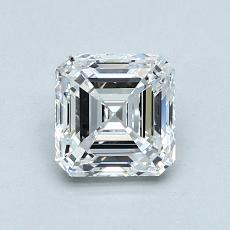1,01-Carat Asscher Diamond Very Good D VVS2