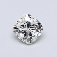 Pierre recommandée n°1: Diamant taille coussin 0,71 carats