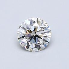 0.60 Carat 圆形 Diamond 理想 H VS1
