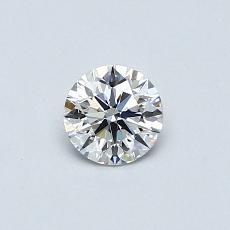 0.41 Carat 圆形 Diamond 理想 E VVS2