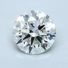 1.21-Carat Round Diamond Ideal I VVS1