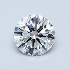 1.01 Carat 圆形 Diamond 理想 D VS2