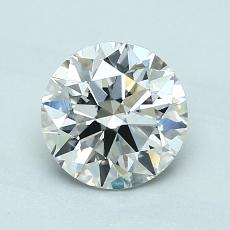 1,15 Carat Rond Diamond Idéale F VS1