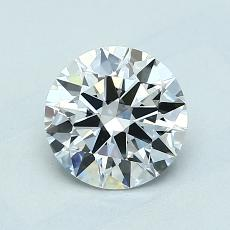 1.01-Carat Round Diamond Ideal E VS2
