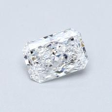 Recommended Stone #2: 0,30-Carat Radiant Cut Diamond