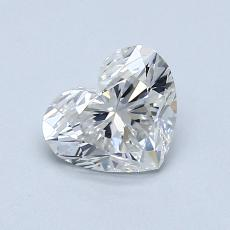 Recommended Stone #2: 0,90-Carat Heart Cut Diamond
