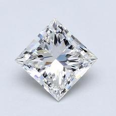 Pierre recommandée n°3: Diamant taille princesse 1,03 carat