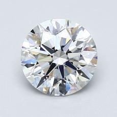 1.30 Carat 圆形 Diamond 理想 E VS2