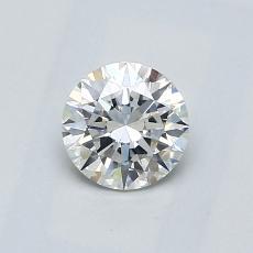 0.60-Carat Round Diamond Ideal G VS2