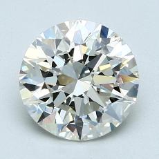 1.70 Carat 圆形 Diamond 理想 K VVS2