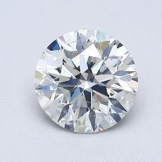 1.01 Carat 圓形 Diamond 理想 H SI2