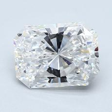 Recommended Stone #1: 2.20-Carat Radiant Cut Diamond