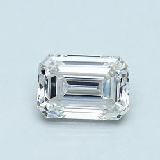 Recommended Stone #4: 0.77-Carat Emerald Cut Diamond
