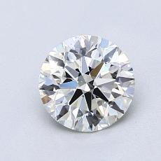 Target Stone: 1,07-Carat Round Cut Diamond