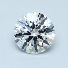 1.00-Carat Round Diamond Very Good E VS1