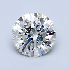 1.31 Carat 圆形 Diamond 理想 K SI2