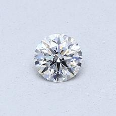 0,30 Carat Rond Diamond Idéale D SI2