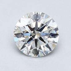 1.01-Carat Round Diamond Ideal H VS2