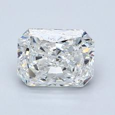 Recommended Stone #4: 1,50-Carat Radiant Cut Diamond