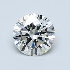 1.00-Carat Round Diamond Ideal I SI1