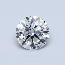 Recommended Stone #4: 0,74-Carat Round Cut Diamond