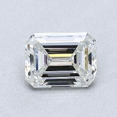 Recommended Stone #1: 0,82-Carat Emerald Cut Diamond