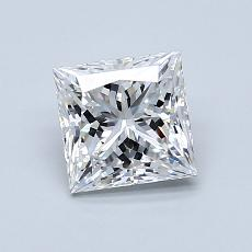 Recommended Stone #3: 1.08-Carat Princess Cut